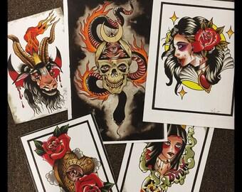 Occult Print set