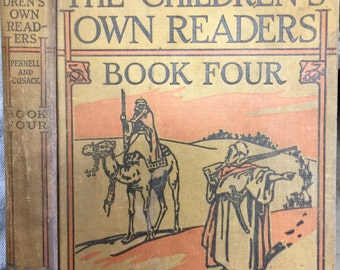 The Children's Own Readers Book Four by Mary E. Pennell & Alice M. Cusack, Ill. by Rodney Thomson, et. al., Ginn and Company, 1929
