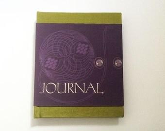 Journal, hand bound blank book