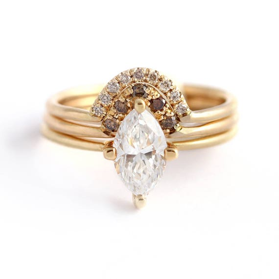 like this item - Marquise Wedding Ring