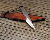 Mini kiridashi , EDC knife, neck knife, carving knife