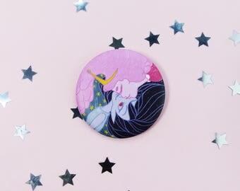 Bubbline Kiss, 56mm Matte Badge, Adventure Time, Princess Bubblegum, Marceline, Love, Ship, Pin, Brooch