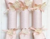 Pink and Ivory Wedding Party Cracker