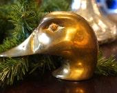 Charming Solid Brass Duck Door Knocker