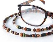 Glasses chain beaded eyeglass necklace sunglasses lanyard