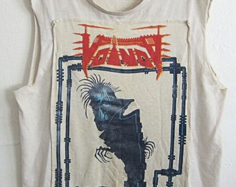SALE w Coupon Code - Voivod Dimension Hatross Tour Upcycled T-Shirt