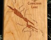 COWICHAN LAKE River Map F...