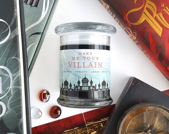 Make Me Your Villain // The Darkling 8oz Jar Candle — Scented Soy Candle