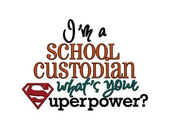 I'm a Lunch Lady whats your Superpower. INSTANT DOWNLOAD.