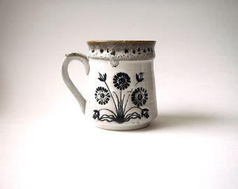 vintage floral mug, floral mug, vintage mug, japanese floral mug , vintage coffee mug, floral coffee mug, vintage japan mug, japan mug