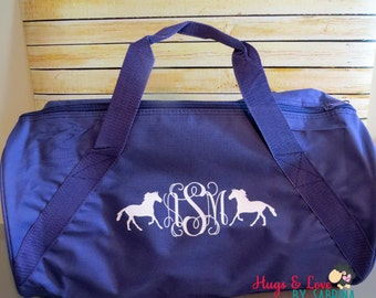 Small Duffel Bag - Personalized