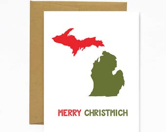 Merry ChristMICH - holiday card