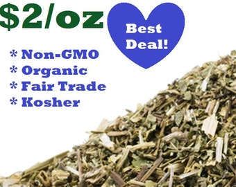 Organic CELANDINE - 1 oz - Chelidonium majus Dried Herb Greater Celandine