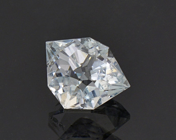 UPRISING SALE! Custom Cut Blue Topaz Gemstone from Colorado 4.21 cts