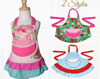 WOMENS, Apron Pattern, Apron Sewing Pattern, Easy Apron Pattern, Patterns for Aprons, Simple Apron Pattern, Retro Apron Pattern APRON LADIES