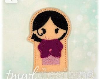 SoS Sister Finger Puppet Toy Digital Design File