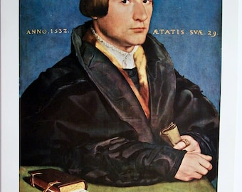 A Member Of The Wedigh Family Print Holbein the Younger Art