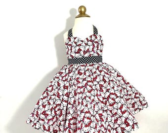 Hello Kitty Rockabilly Dress