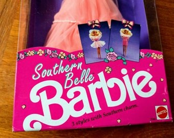 Southern Belle Barbie New in Box Vintage 1990s