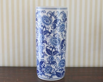 Vintage Chinoiserie Umbrella Stand