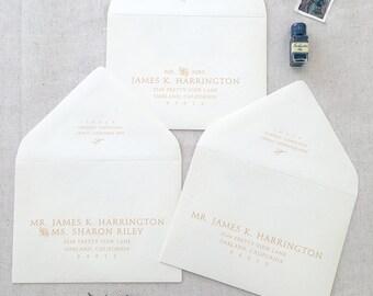Envelope Guest Addressing | No. S001 | Set of 25