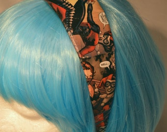 Harley Quinn & Secret Six Comic Book Headband