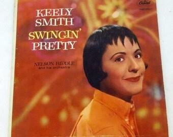 Keely Smith Swingin Pretty Vinyl LP Record BL T 1145