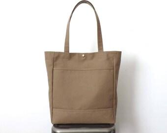 Canvas Tote Bag Tan SALE