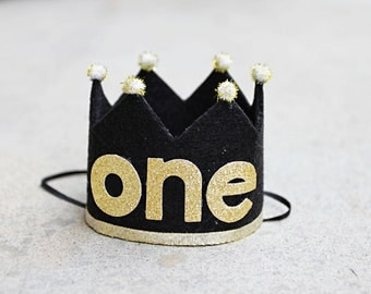 Boys Wild One Crown - Mr. Onederful Crown - Boys First Birthday Crown - Cake Smash