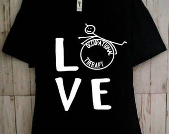 Occupational Therapy Love Shirt