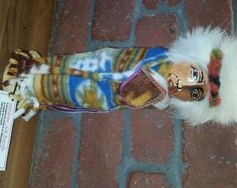 Grand-Father Doll...Charm and Wisdom of the Ancestors, Amulets