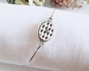 Chanel vintage button bracelet