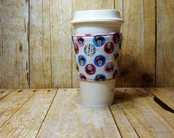 Fabric Coffee Cozy / Where's Waldo Coffee Cozy / Coffee Cozy / Tea Cozy