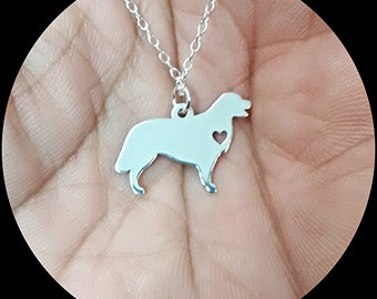 Golden Retriever Necklace - Engraving Pendant - Sterling Silver Jewelry - Gold Jewelry - Rose Gold Jewelry - Personalized Pet Dog Jewelry