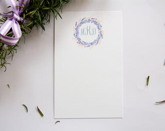 Lavender Stationery // Personalized Stationery // Set of Cards 25+