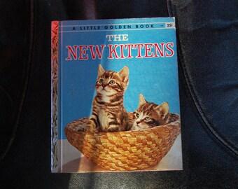 The New Kittens A Little Golden Book First Edition A 1957 #302