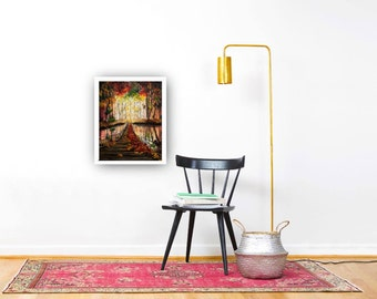 Suspension, Giclee, Art Print, Wall Decor