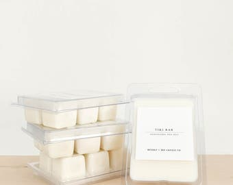 TIKI BAR Soy Wax Melts | Scented Soy Tarts, Soy Candle Melt, Scented Wax Cubes