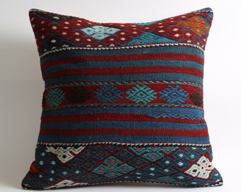 throw pillows, turkish pillow, 20x20 pillow cover, boho pillow, zippered pillow, , throw pillow covers, tribal throw pillow, bohemian decor