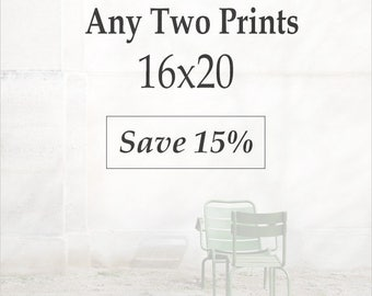 Set of 16x20 Prints - Paris Prints, Paris Photography, Gallery Wall, Photo Collection, Discount Photo Set, Photo Gift Set