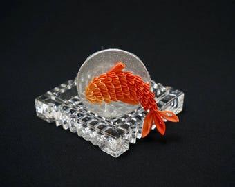 Koi and Water Motif Kanzashi 329