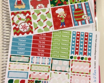 Christmas Planner Stickers   Christmas Baking Planner Stickers   Fits Erin Condren Life Planner   Vertical   Fits Happy Planner   ML036