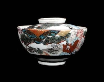 Handpainted Chinese Gaiwan Tea Cup (without saucer)