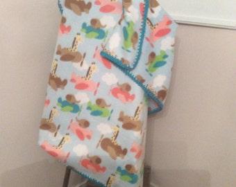 Boys baby blanket