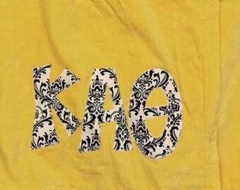 Kappa Alpha Theta Velour Towel Wrap