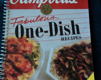 Campbell's Fabulous One-Dish Recipes  1992