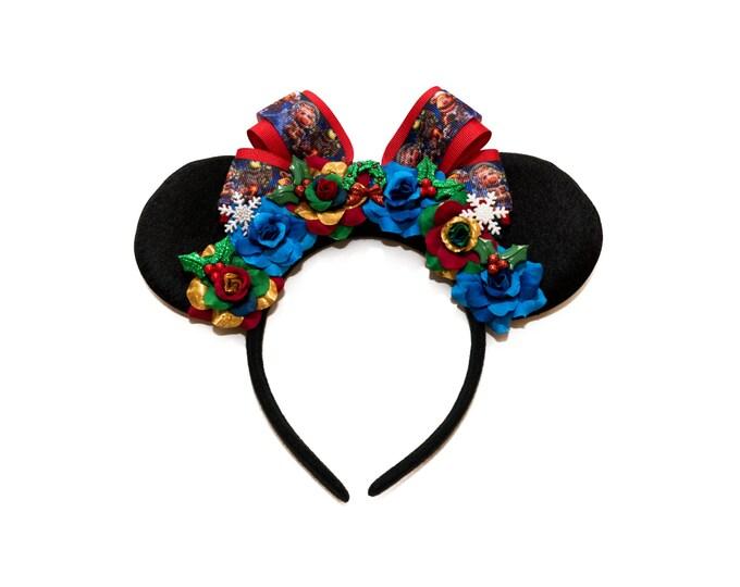 Christmas Carol Mouse Ears Headband