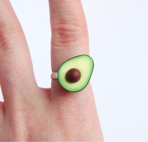 Funny Green Avocado Ring Adjustable Miniature Food Statement. Epic Wedding Rings. Peridot Wedding Rings. Naval Rings. Raw Crystal Wedding Rings. Adorable Wedding Rings. Custom Mens Wedding Rings. Load Rings. Mens Crystal Wedding Wedding Rings