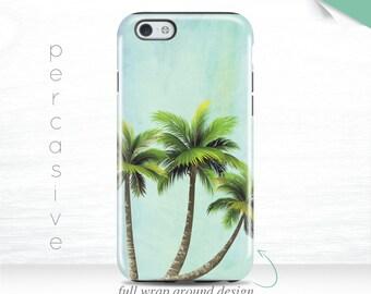Summer iPhone 7 Case Palm Trees iPhone 6s Case Nature iPhone 5 Case Blue Green iPhone 7 3D Case iPhone 6 Case Beach Galaxy S7 case 13r