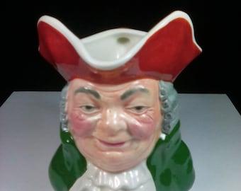 Vintage Toby Mug, Squire Mug, Olde Staffordshire, Made in England, Hand Painted, Character Mug, English Toby Mug, Collectible Mug, Toby Jug